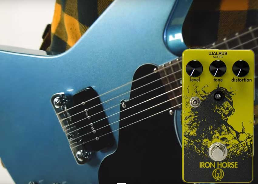 Perfect Pairings: Fret-King Esprit I and Walrus Audio Iron Horse Distortion