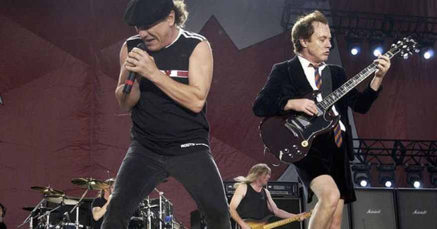 AC/DC's Brian Johnson is at risk of total hearing loss, doctors say