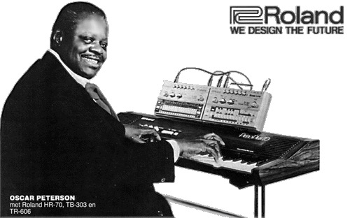 Roland TB-303 and TR-606 Advertisement