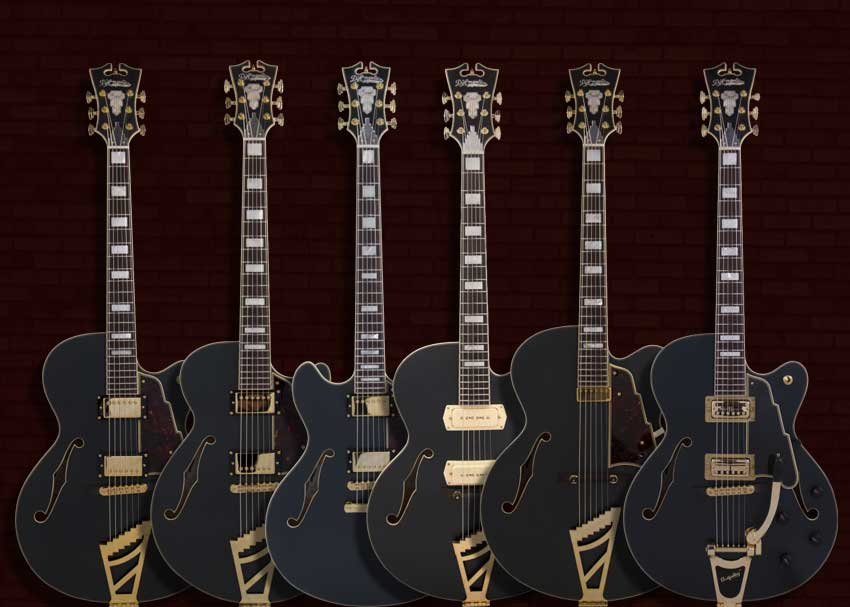 D'Angelico Deluxe Collection Guitars