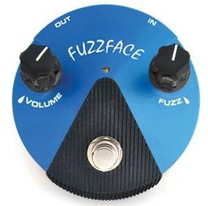 Dunlop FFM1 Fuzz Face Mini (with silicon transistors)