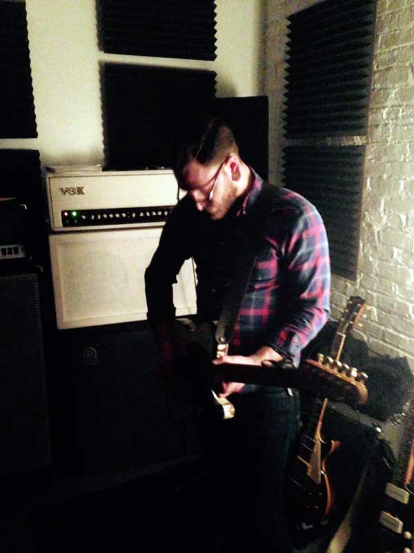Even Thieves guitarist Vinny DePierro