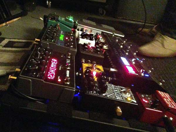 Vince's pedalboard