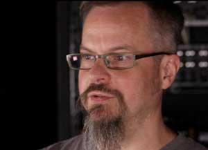Moog product development specialist Steve Dunnington