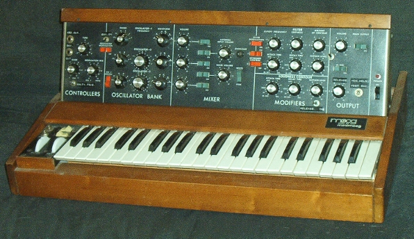 The original 1970 Minimoog, Photo: Wikipedia