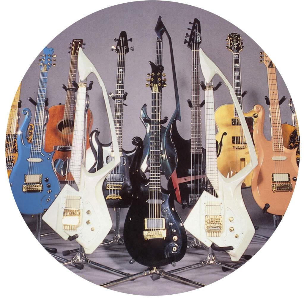 Prince's Guitars