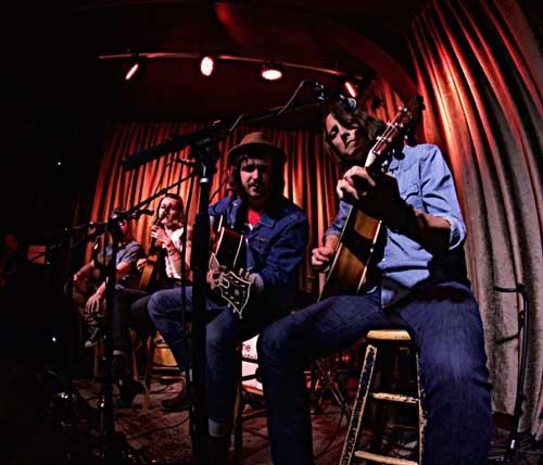 Bose Troubadour Tour artists Jamie Kent, Megan Slankard, Matthew Szlachetka and Jeff Campbell
