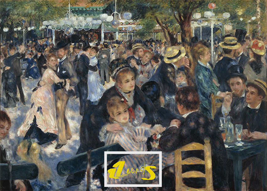 Le Moulin de la Gallete Remixed by Author