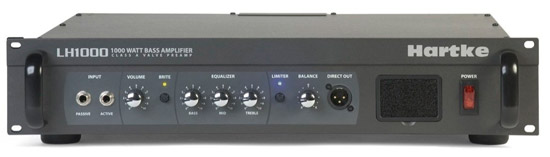 Victor Wooten's amp of choice -- the Hartke LH-1000