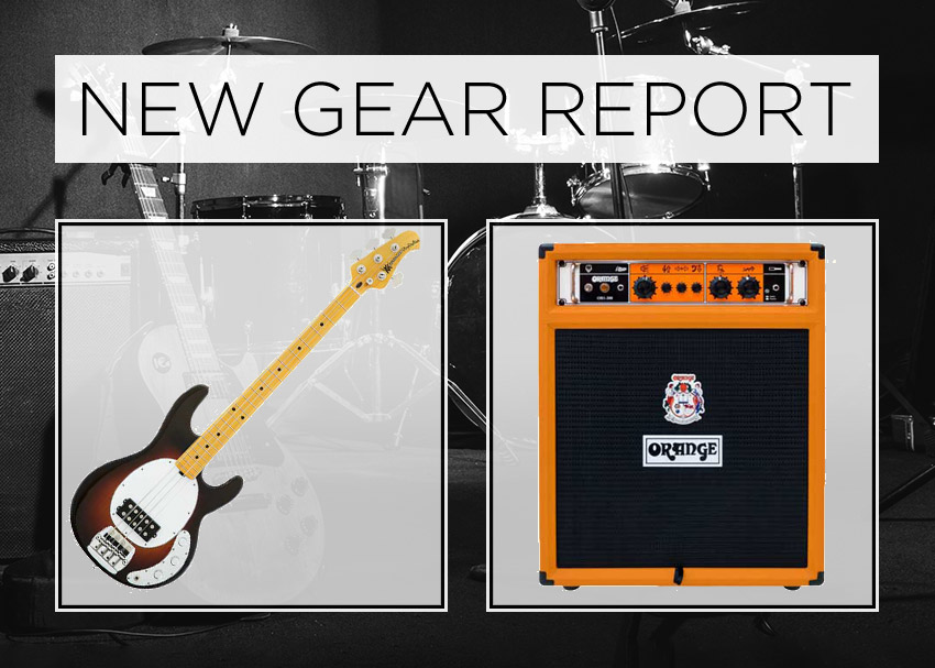 New Gear Report: Music Man Old Smoothie & Orange OB1-300