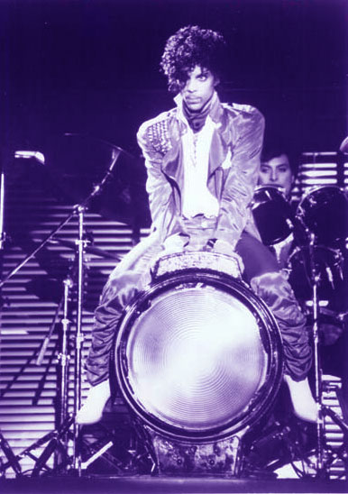 Prince On A Spotlight Drum