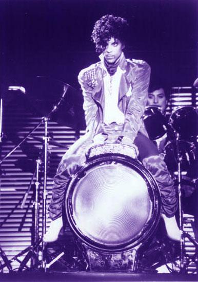 Prince On A Spotlight Drum