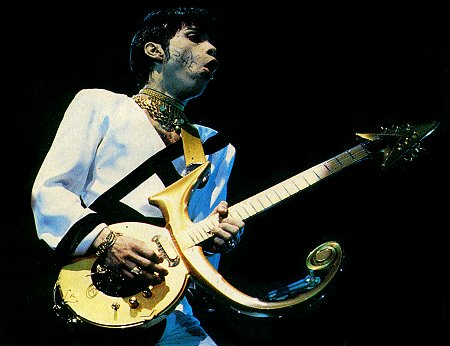 Prince Performing With Love Symbol Guitar Zzounds Music Blog