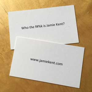 Jamie Kent's business card