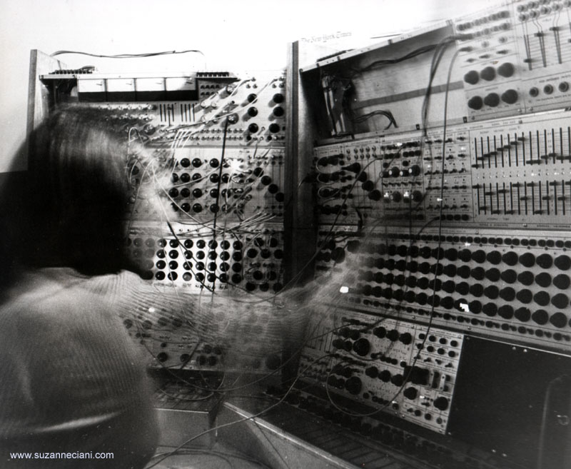 Suzanne Ciani Performing During an Early Live Concert/courtesy of Suzanne Ciani