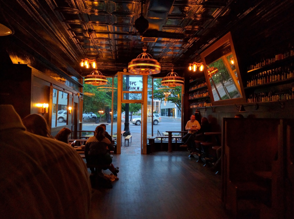 Inside Criterion Bar at Durham/Photo by Author