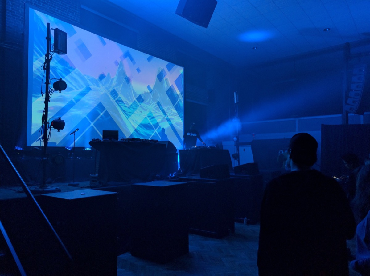 UV Boi at The Armory for Moogfest/Photo by Author