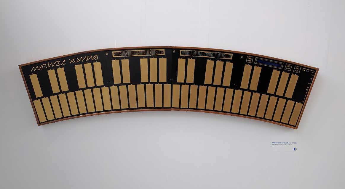 Buchla's Marimba Lumina MIDI controller