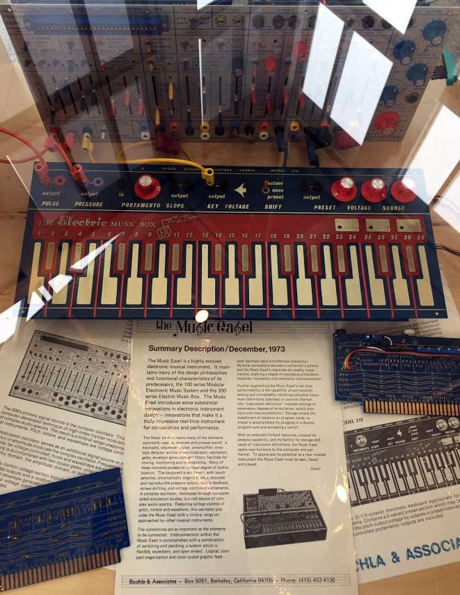 The Buchla Music Easel