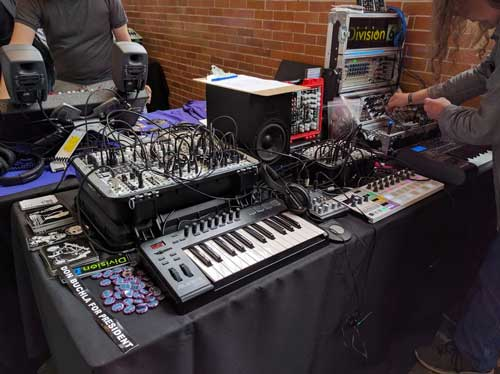 Division 6 synths and modules at Moogfest