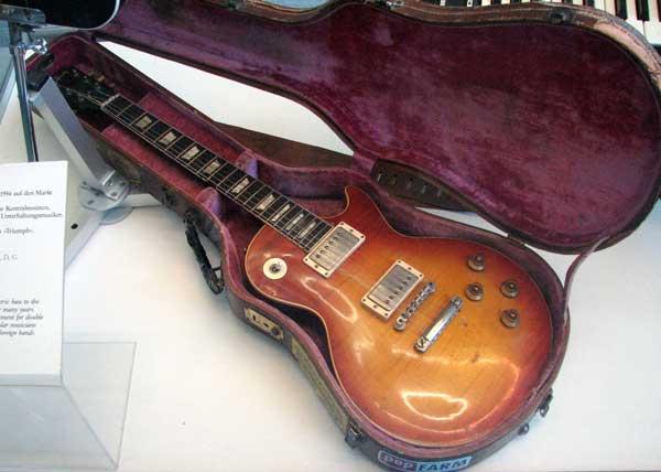 A 1958 Gibson Les Paul