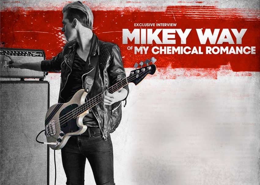 Mikey Way Interview