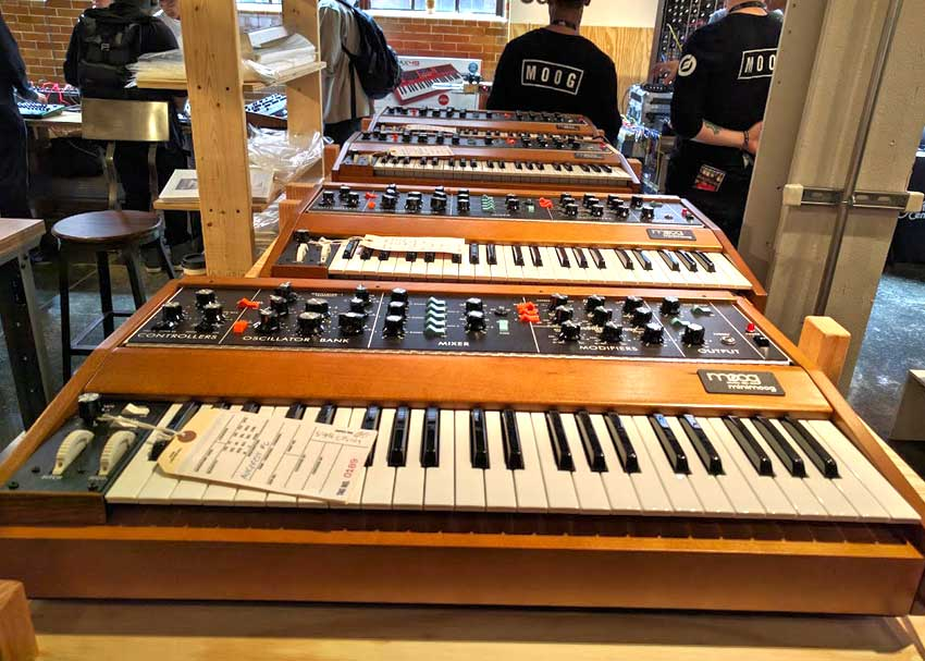 Minimoog Model D Reissues at Moogfest 2016
