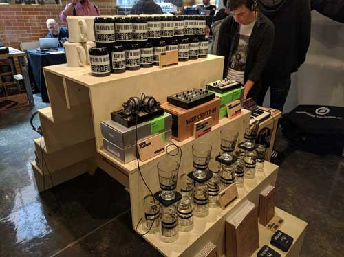 The Moogfest gift shop might just be the best gift shop ever.