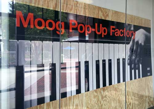 Moog's Pop-Up Factory at Moogfest