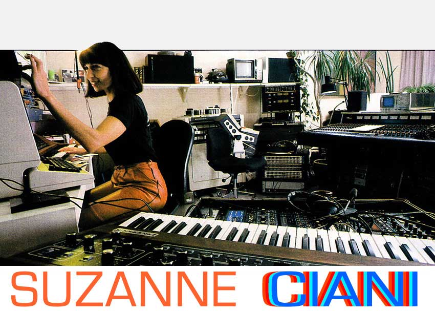 Suzanne Ciani in Studio (1983)