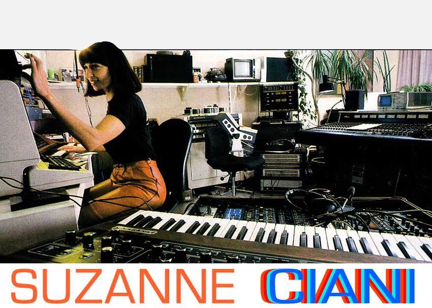Suzanne Ciani in Studio (1983)