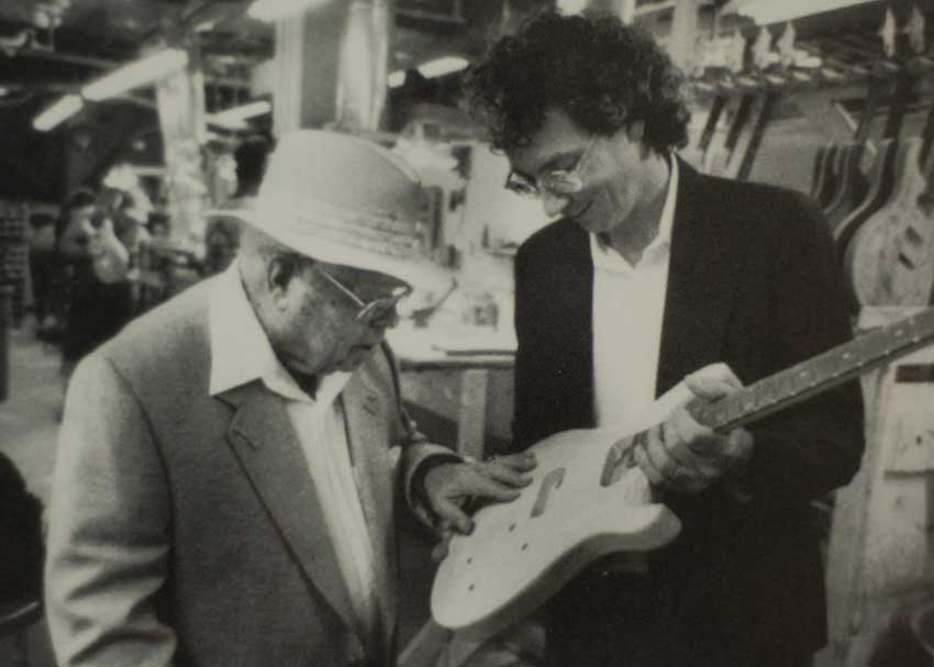 Ted McCarty and Paul Reed Smith