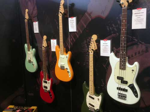 Fender offset reissues