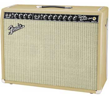 Fender Tan and Cream '65 Twin Reverb. Summer NAMM 2016