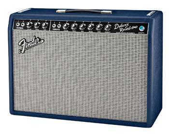 Fender Navy Blue '65 Deluxe Reverb. Summer NAMM 2016
