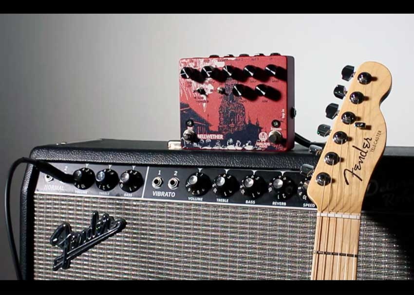 Perfect Pairings: Fender American Elite Telecaster and Walrus Audio Bellwether Analog Delay