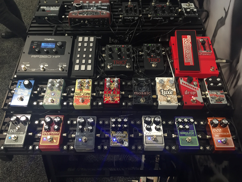 A whole crop of DigiTech pedals!