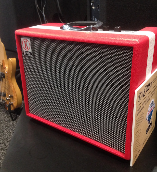 We took a look at Eden's ukulele amp.