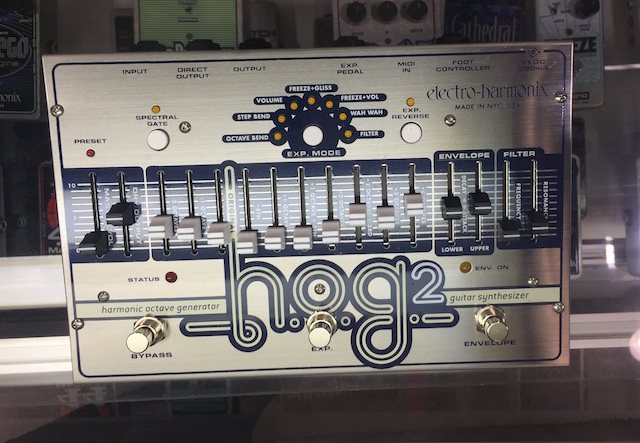 The Full Hog! Take a peek at the Hog 2 Harmonic Octave Generator Guitar Synth pedal.