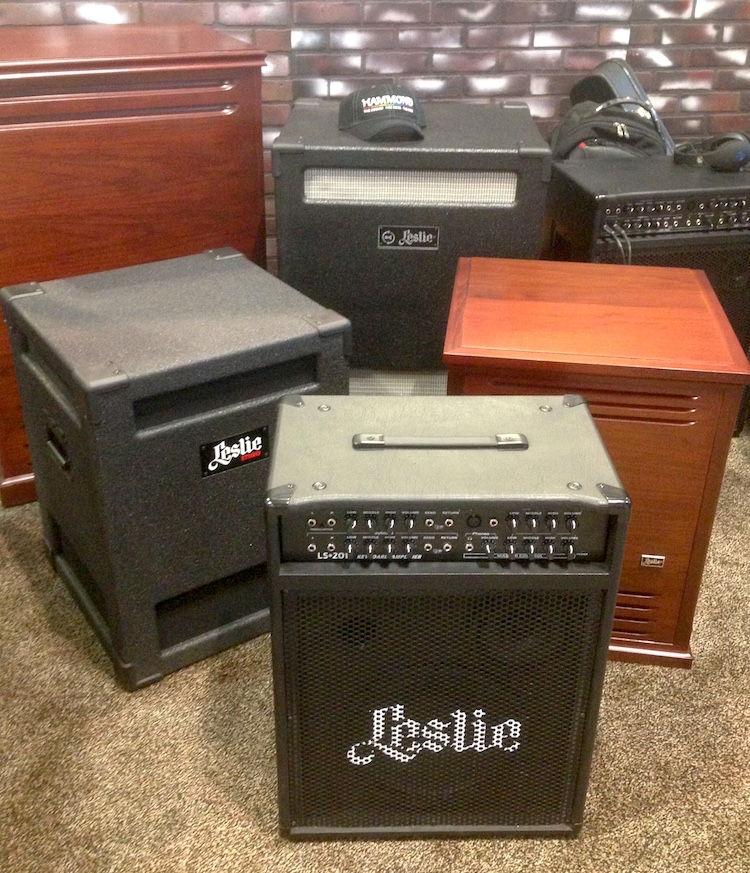 Some Leslie/Hammond cabinets -- among them the 147A, 981, and the LS2215.
