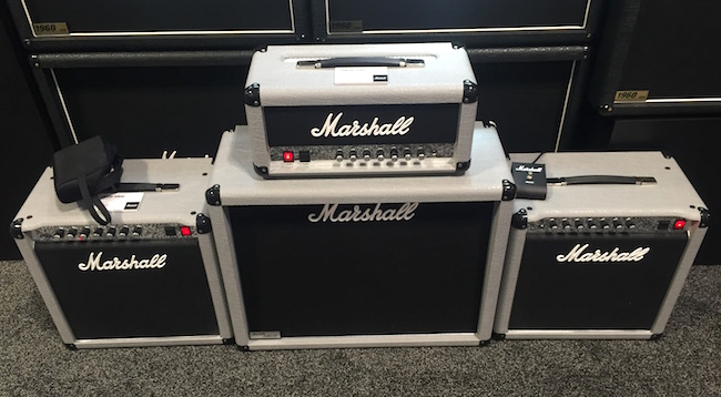 We got a closer look at some Marshall Mini Jubilees.