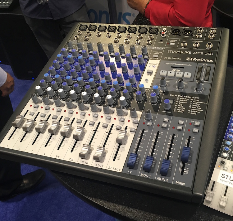 Meet the Summer NAMM 2016 Best in Show: the PreSonus StudioLive AR16 mixer.