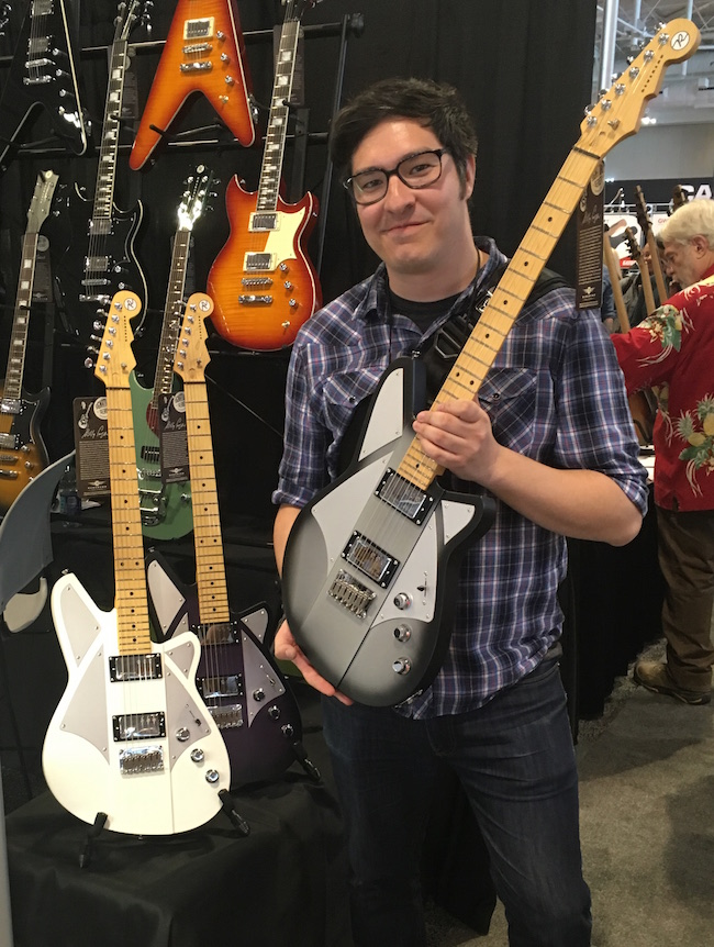 Which Billy Corgan signature Reverend do you like best? Sergio digs the Silverburst finish.