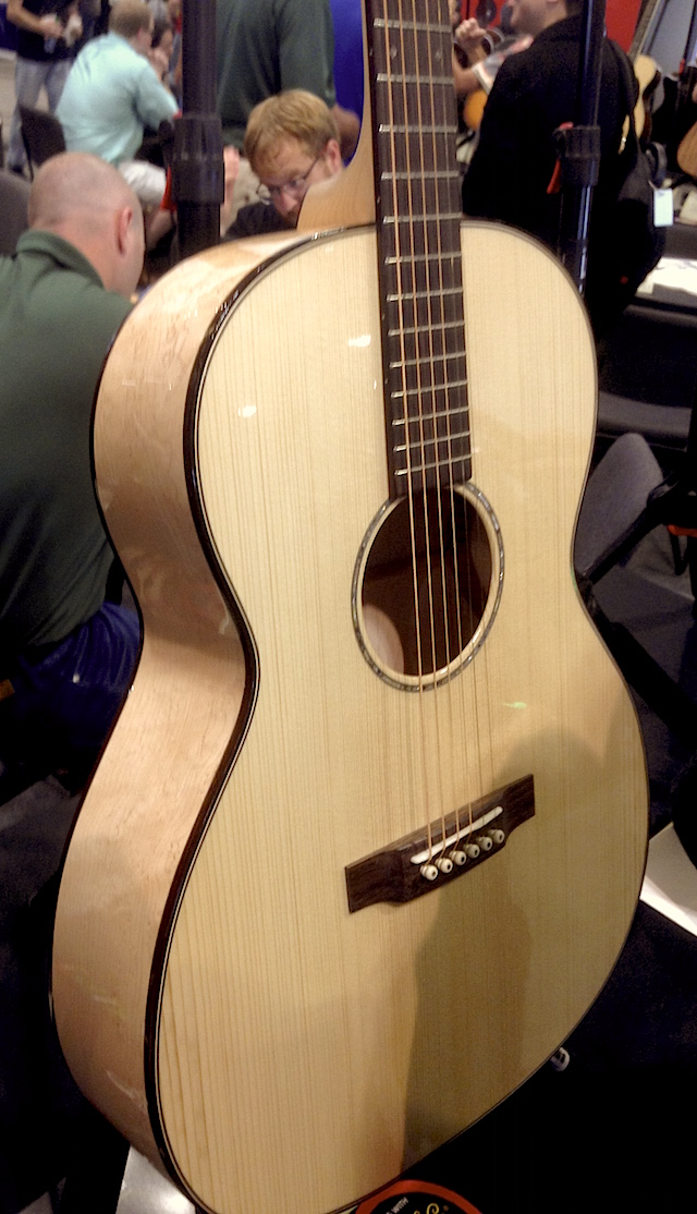 Check out this gorgeous Martin Custom Grand Auditorium!