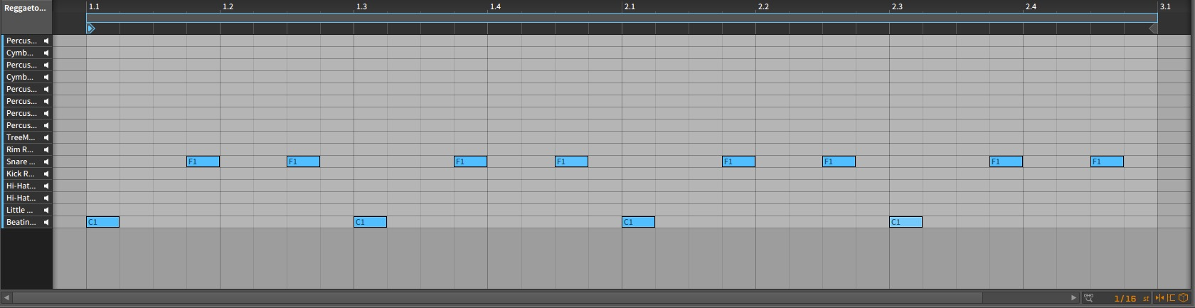 Bitwig Studio – Kick and Snare Arrangement [Beating Kick, Snare Phat Brightly]