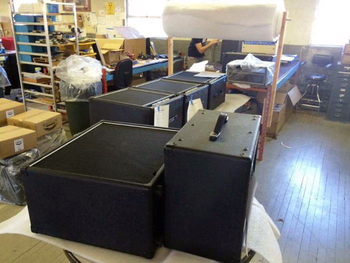 Amps assembled at Fuchs Audio Headquarters