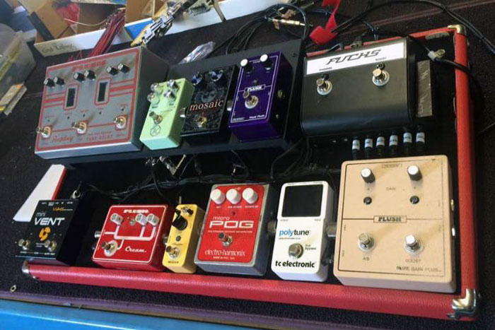 Andy Fuchs' pedalboard
