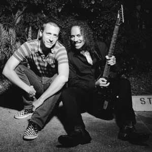 KHDK co-founders Kirk Hammett and David Karon.