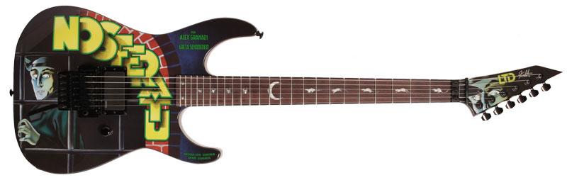 ESP LTD Kirk Hammett Nosferatu