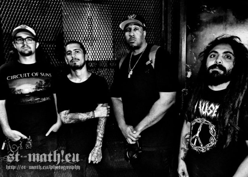 Nico Santora (second from left) left Suicidal Tendencies in 2015 to form Lillake. While originally based out of Los Angeles, Nico now calls Nashville his home. Photo courtesy of Mathieu Bredeau